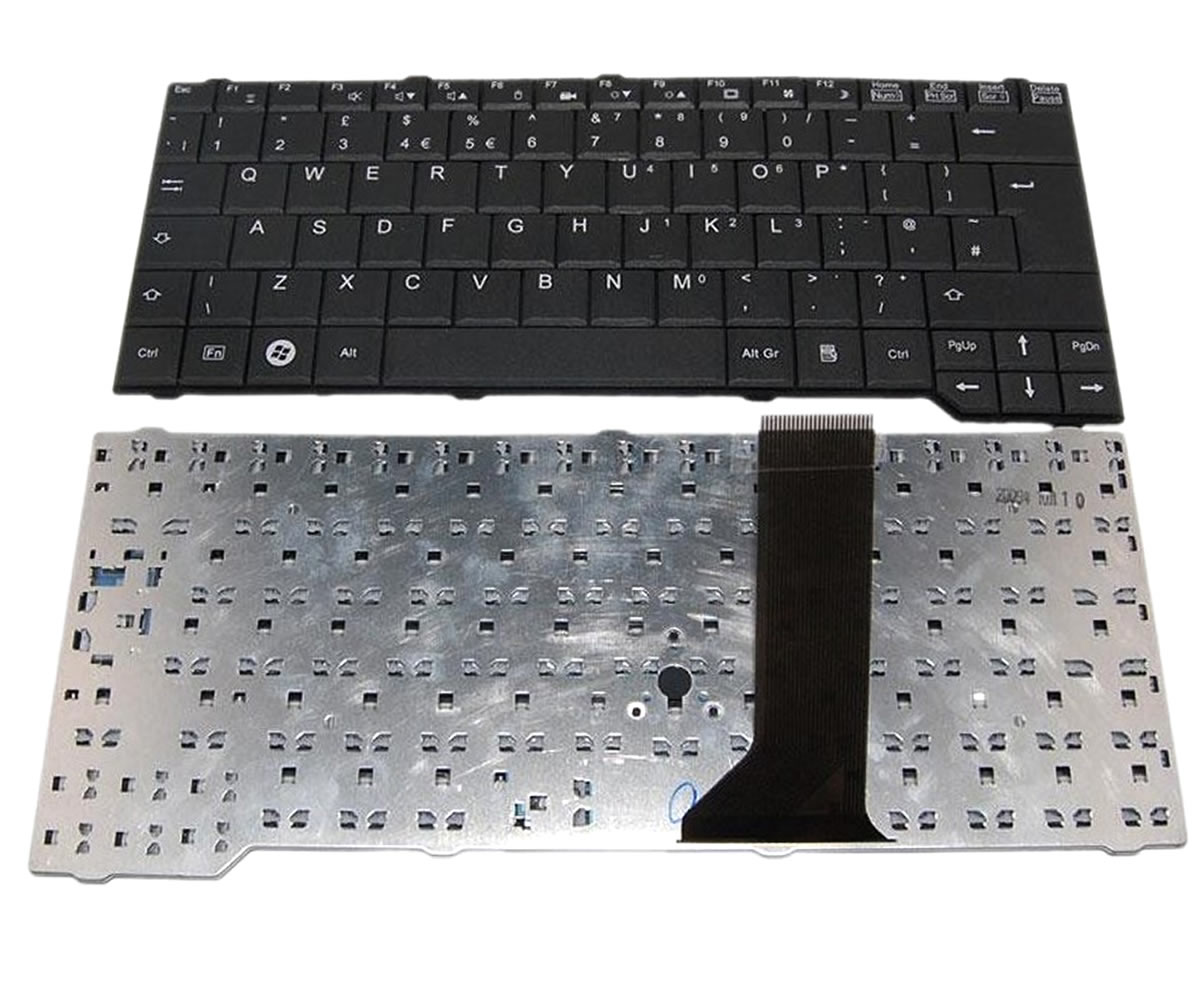 Tastatura Fujitsu Siemens Esprimo Mobile D9510 neagra imagine powerlaptop.ro 2021