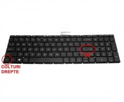 Tastatura HP  15-bw008AX iluminata. Keyboard HP  15-bw008AX. Tastaturi laptop HP  15-bw008AX. Tastatura notebook HP  15-bw008AX