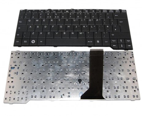 Tastatura Fujitsu Siemens Esprimo Mobile D9510 neagra. Keyboard Fujitsu Siemens Esprimo Mobile D9510 neagra. Tastaturi laptop Fujitsu Siemens Esprimo Mobile D9510 neagra. Tastatura notebook Fujitsu Siemens Esprimo Mobile D9510 neagra