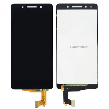 Ansamblu Display LCD + Touchscreen Huawei Honor 7 PLK-L01 Black Negru . Ecran + Digitizer Huawei Honor 7 PLK-L01 Black Negru