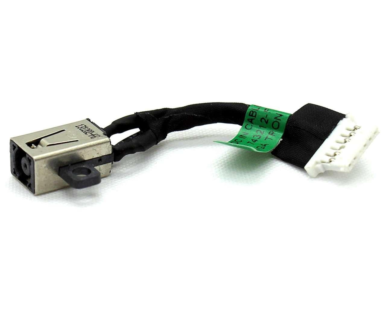 Mufa alimentare laptop HP 743212-FD1 cu fir imagine powerlaptop.ro 2021