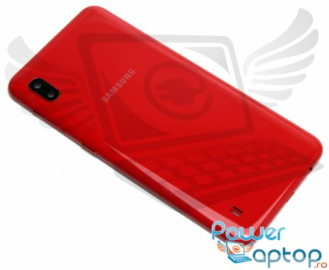 Capac Baterie Samsung Galaxy A10 A105 Rosu Red. Capac Spate Samsung Galaxy A10 A105 Rosu Red