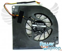 Cooler laptop Acer Aspire 7104. Ventilator procesor Acer Aspire 7104. Sistem racire laptop Acer Aspire 7104