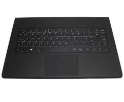 Tastatura Lenovo Yoga 3 Pro 1370  neagra cu Palmrest NEGRU iluminata backlit. Keyboard Lenovo Yoga 3 Pro 1370  neagra cu Palmrest NEGRU. Tastaturi laptop Lenovo Yoga 3 Pro 1370  neagra cu Palmrest NEGRU. Tastatura notebook Lenovo Yoga 3 Pro 1370  neagra cu Palmrest NEGRU