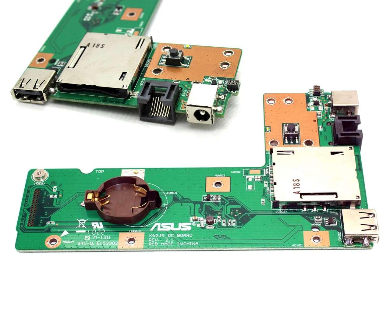 Modul Alimentare Charging Board Asus X52JV imagine powerlaptop.ro 2021