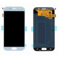 Ansamblu Display LCD + Touchscreen Samsung Galaxy A5 2017 A520 A520F Display Original Blue Albastru . Ecran + Digitizer Samsung Galaxy A5 2017 A520 A520F Display Original Blue Albastru