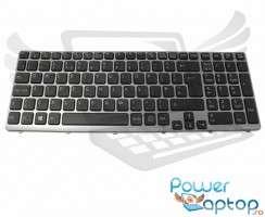 Tastatura Sony Vaio SVE15 iluminata backlit. Keyboard Sony Vaio SVE15 iluminata backlit. Tastaturi laptop Sony Vaio SVE15 iluminata backlit. Tastatura notebook Sony Vaio SVE15 iluminata backlit