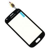 Touchscreen Digitizer Samsung Galaxy Trend Plus S7580 Black Negru. Geam Sticla Smartphone Telefon Mobil Samsung Galaxy Trend Plus S7580 Black Negru