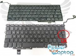 "Tastatura Apple MacBook Pro Unibody 17"" 2010. Keyboard Apple MacBook Pro Unibody 17"" 2010. Tastaturi laptop Apple MacBook Pro Unibody 17"" 2010. Tastatura notebook Apple MacBook Pro Unibody 17"" 2010"