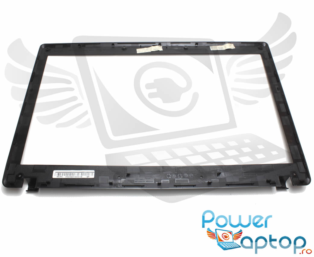 Rama Display Lenovo FA0BP000200 Bezel Front Cover Neagra imagine