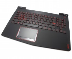 Tastatura Lenovo  5CB0N00298 neagra cu Palmrest negru iluminata backlit. Keyboard Lenovo  5CB0N00298 neagra cu Palmrest negru. Tastaturi laptop Lenovo  5CB0N00298 neagra cu Palmrest negru. Tastatura notebook Lenovo  5CB0N00298 neagra cu Palmrest negru
