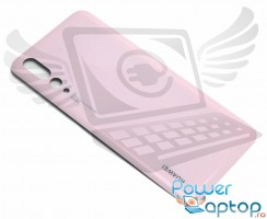 Capac Baterie Huawei P20 Pro Roz Pink. Capac Spate Huawei P20 Pro Roz Pink