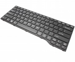 Tastatura Fujitsu Lifebook E734 neagra. Keyboard Fujitsu Lifebook E734 neagra. Tastaturi laptop Fujitsu Lifebook E734 neagra. Tastatura notebook Fujitsu Lifebook E734 neagra