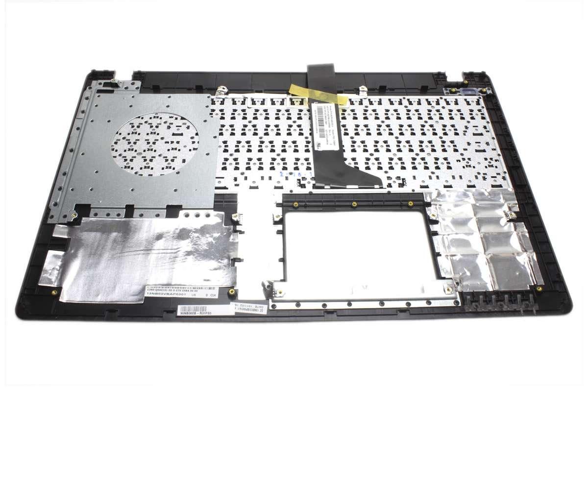 Tastatura Asus D552LC neagra cu Palmrest negru imagine