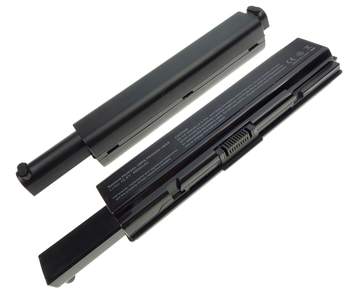 Baterie Toshiba PA3533 12 celule imagine powerlaptop.ro 2021