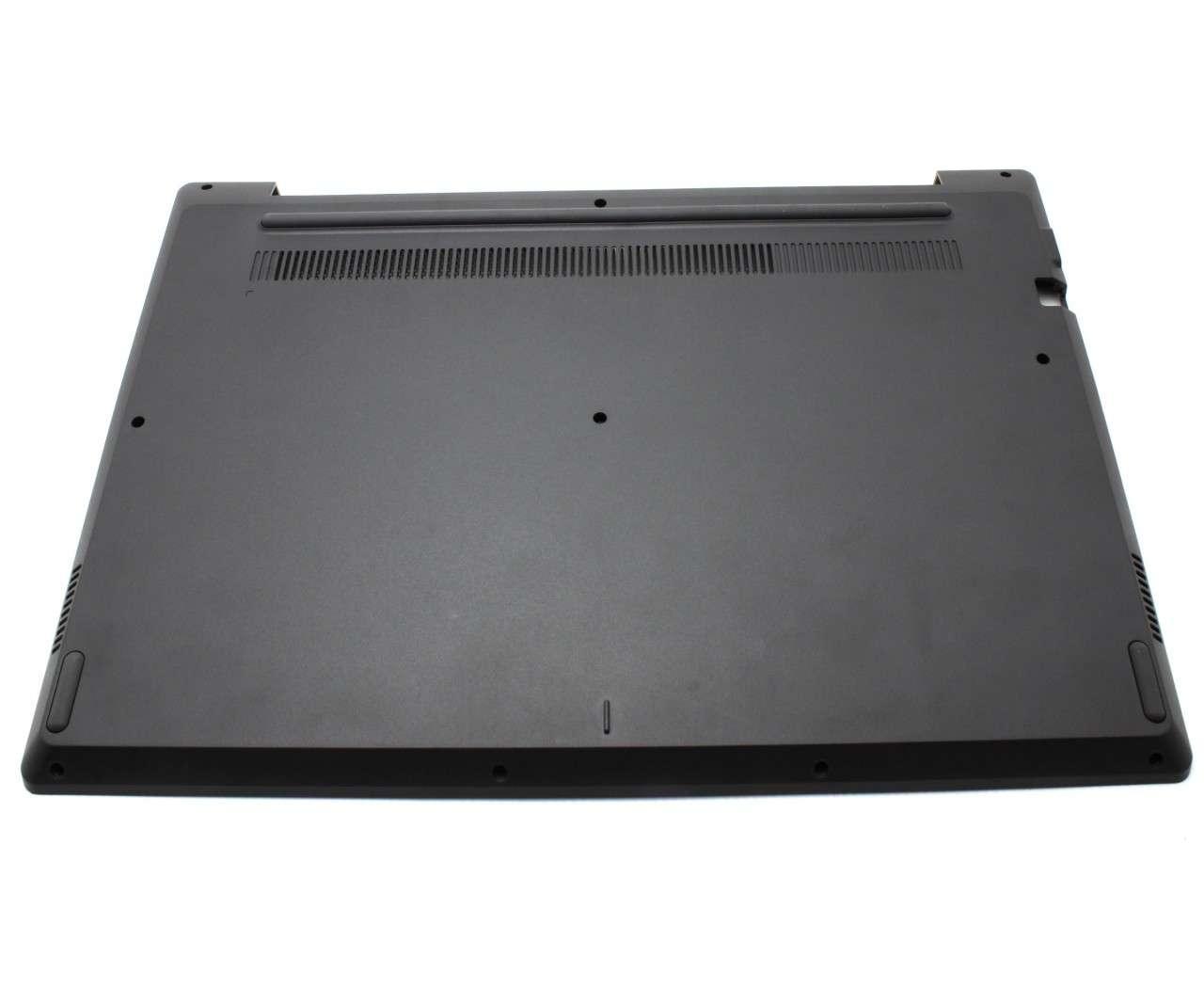 Bottom Case Lenovo AP26A000700 Carcasa Inferioara Neagra fara Orificiu VGA imagine powerlaptop.ro 2021