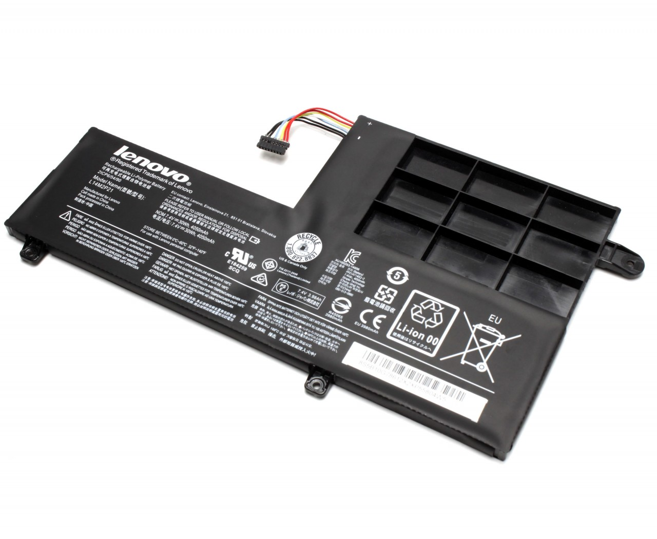 Baterie Lenovo IdeaPad 300S-14ISK Originala 30Wh/4050mAh 2 celule imagine powerlaptop.ro 2021