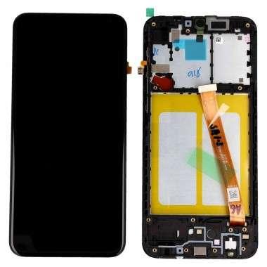 Display Samsung Galaxy A20E A202 Display Cu Rama Black Negru. Ecran Samsung Galaxy A20E A202 Display Cu Rama Black Negru