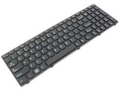 Tastatura Lenovo Z560 . Keyboard Lenovo Z560 . Tastaturi laptop Lenovo Z560 . Tastatura notebook Lenovo Z560