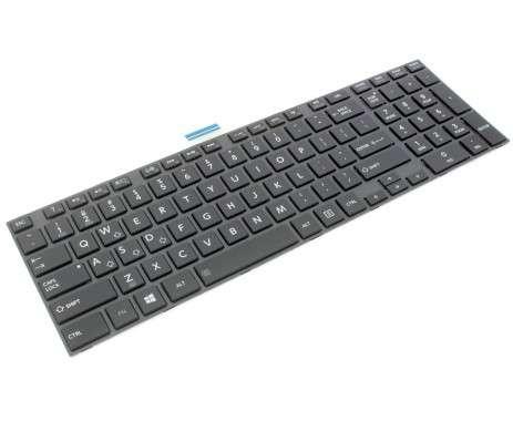 Tastatura Toshiba Satellite C850 iluminata backlit. Keyboard Toshiba Satellite C850 iluminata backlit. Tastaturi laptop Toshiba Satellite C850 iluminata backlit. Tastatura notebook Toshiba Satellite C850 iluminata backlit