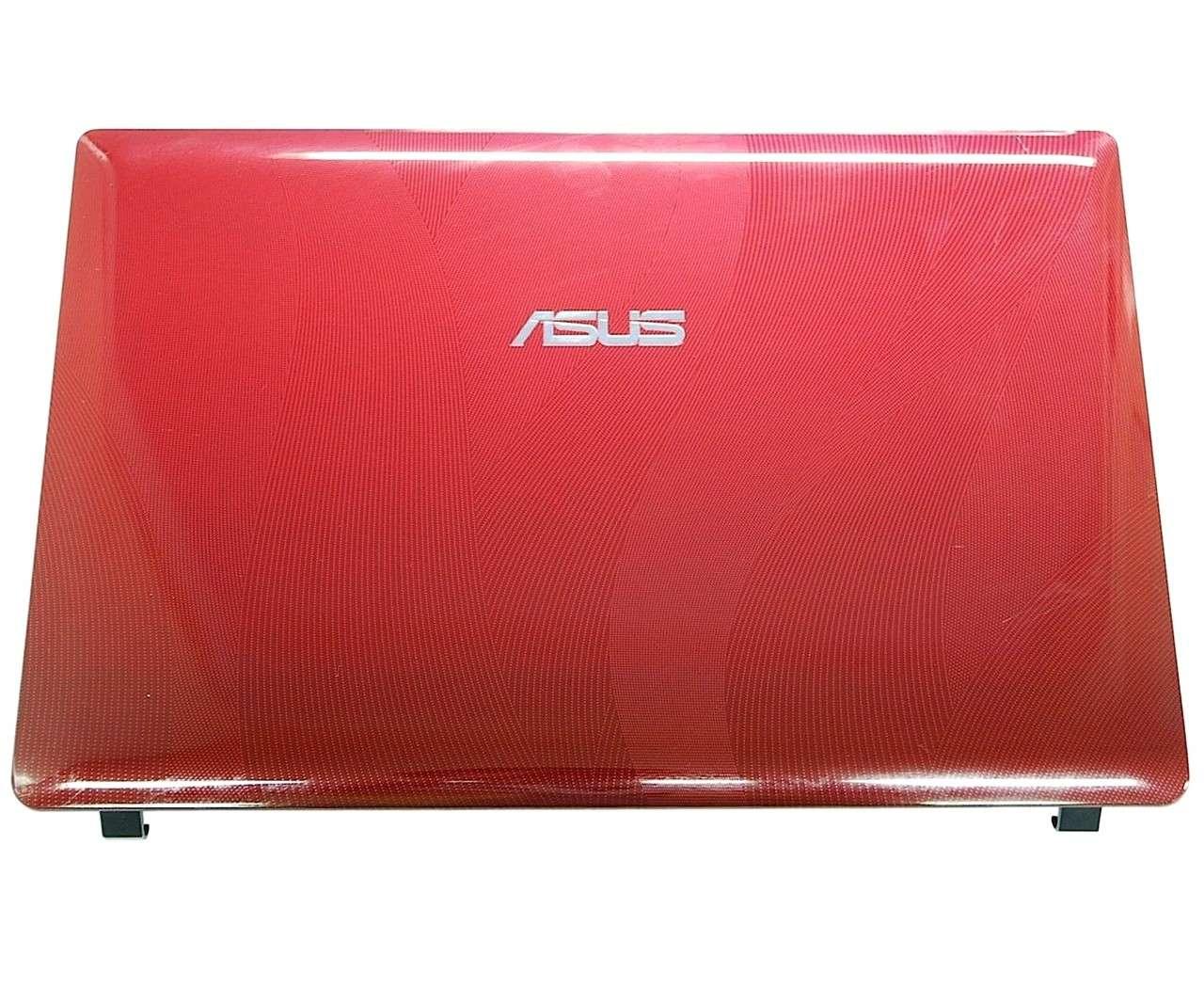 Capac Display BackCover Asus F200CA Carcasa Display Rosie imagine