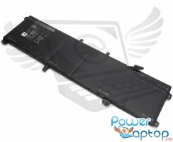 Baterie Dell XPS 15 9570 Originala 91Wh. Acumulator Dell XPS 15 9570. Baterie laptop Dell XPS 15 9570. Acumulator laptop Dell XPS 15 9570. Baterie notebook Dell XPS 15 9570