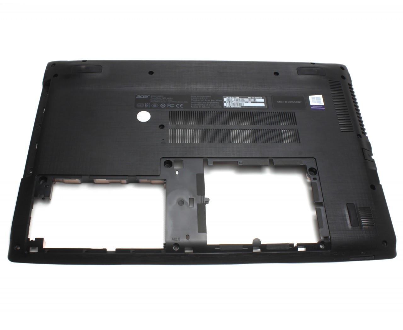 Bottom Case Acer Aspire E5 575G Carcasa Inferioara Neagra imagine