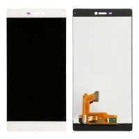 Ansamblu Display LCD + Touchscreen Huawei Ascend P8 White Alb ORIGINAL. Ecran + Digitizer Huawei Ascend P8 White Alb ORIGINAL
