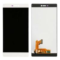 Ansamblu Display LCD + Touchscreen Huawei Ascend P8 White Alb ORIGINAL. Ecran + Digitizer Huawei Ascend P8 White Alb ORIGINAL