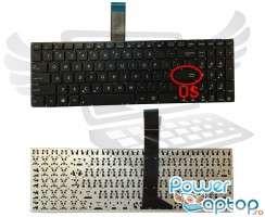 Tastatura Asus  P550CC. Keyboard Asus  P550CC. Tastaturi laptop Asus  P550CC. Tastatura notebook Asus  P550CC