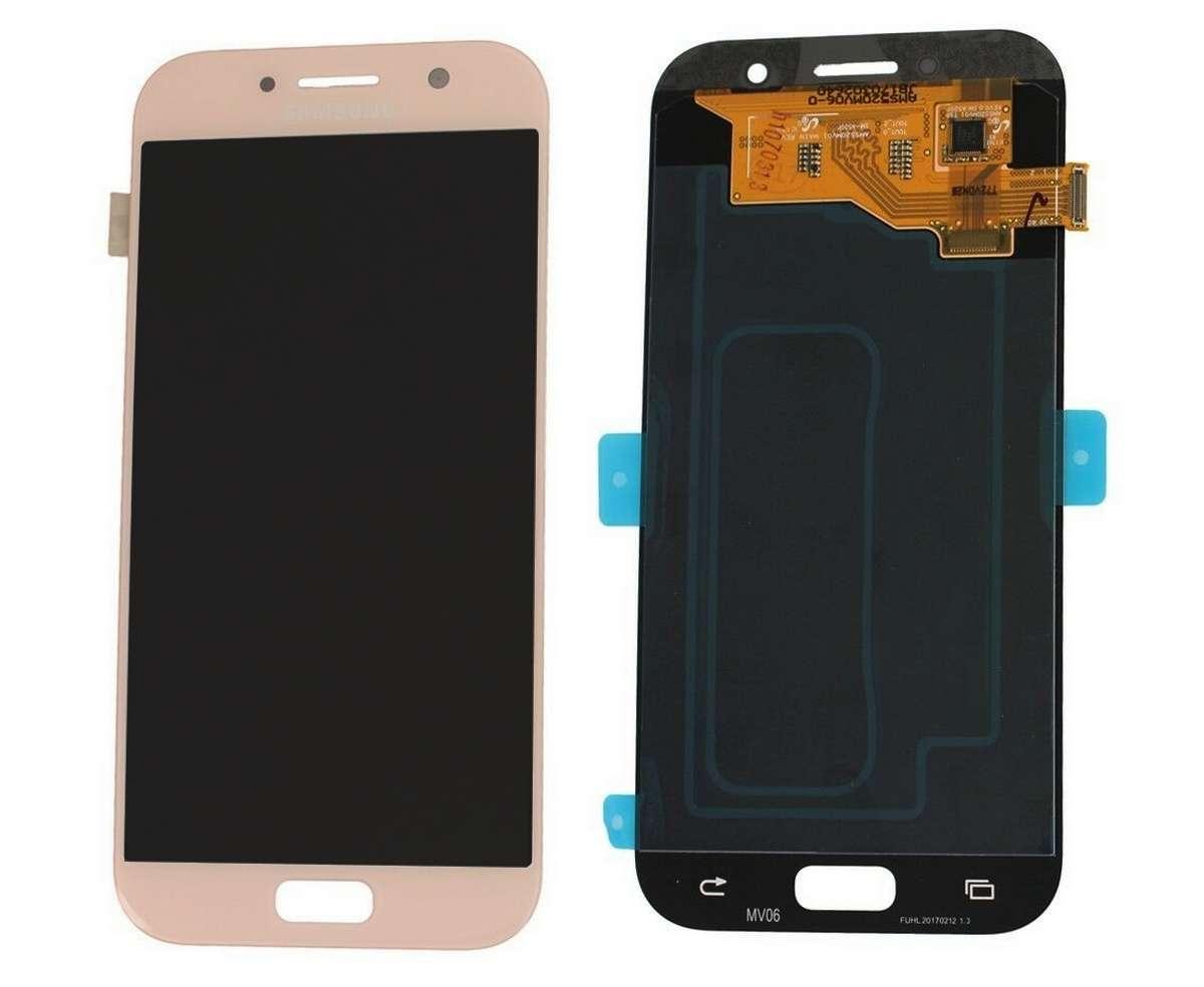Display Samsung Galaxy A5 2017 A520 A520F Display OLED AAA Gold Auriu imagine powerlaptop.ro 2021