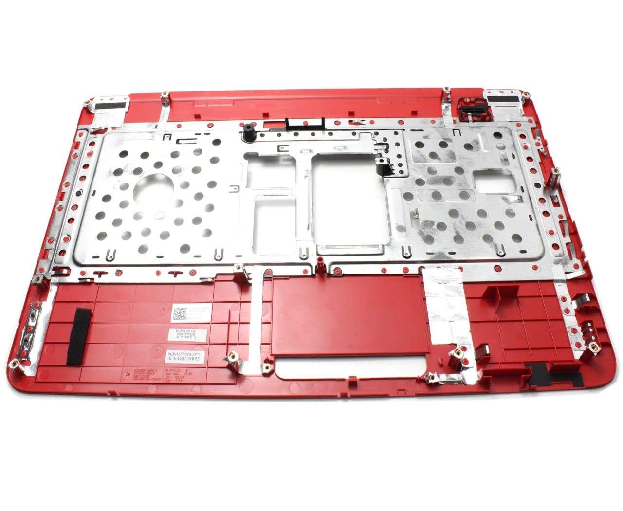 Palmrest Dell Inspiron N5040 Rosu fara touchpad imagine powerlaptop.ro 2021
