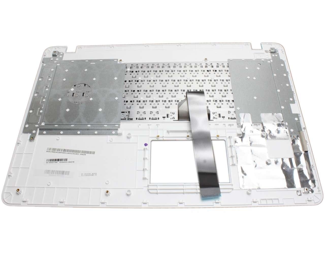 Tastatura Asus X751L neagra cu Palmrest alb imagine