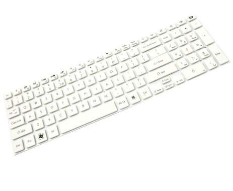 Tastatura Acer  MP10K33U46981 alba. Keyboard Acer  MP10K33U46981 alba. Tastaturi laptop Acer  MP10K33U46981 alba. Tastatura notebook Acer  MP10K33U46981 alba