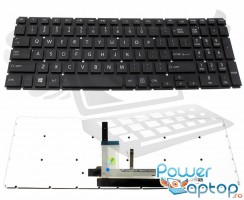 Tastatura Toshiba Satellite L50D-B iluminata. Keyboard Toshiba Satellite L50D-B. Tastaturi laptop Toshiba Satellite L50D-B. Tastatura notebook Toshiba Satellite L50D-B