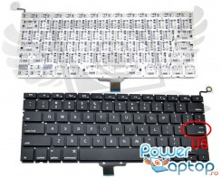 Tastatura Apple MacBook Pro A1278. Keyboard Apple MacBook Pro A1278. Tastaturi laptop Apple MacBook Pro A1278. Tastatura notebook Apple MacBook Pro A1278