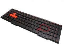 Tastatura Asus FX53VD iluminata. Keyboard Asus FX53VD. Tastaturi laptop Asus FX53VD. Tastatura notebook Asus FX53VD
