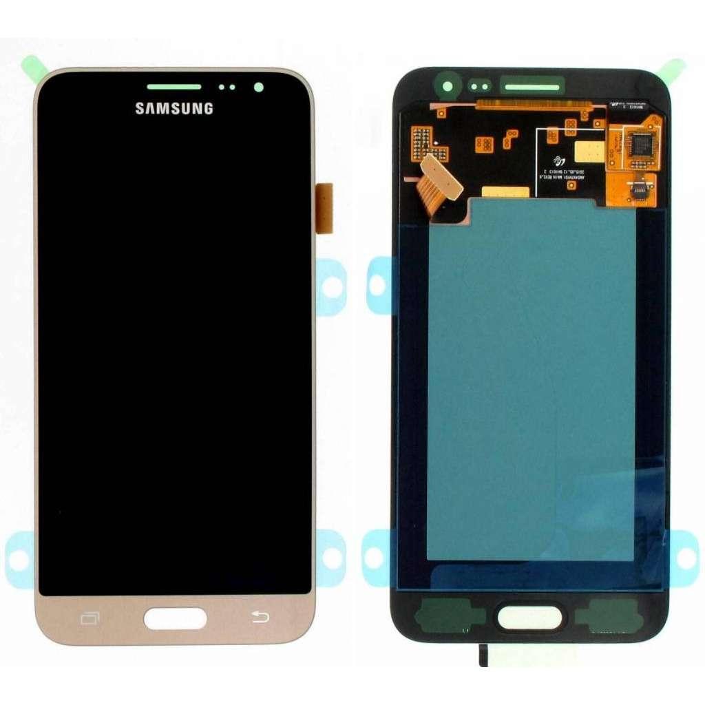 Display Samsung Galaxy J3 2016 J320FN Display Original Service Pack Gold Auriu imagine powerlaptop.ro 2021