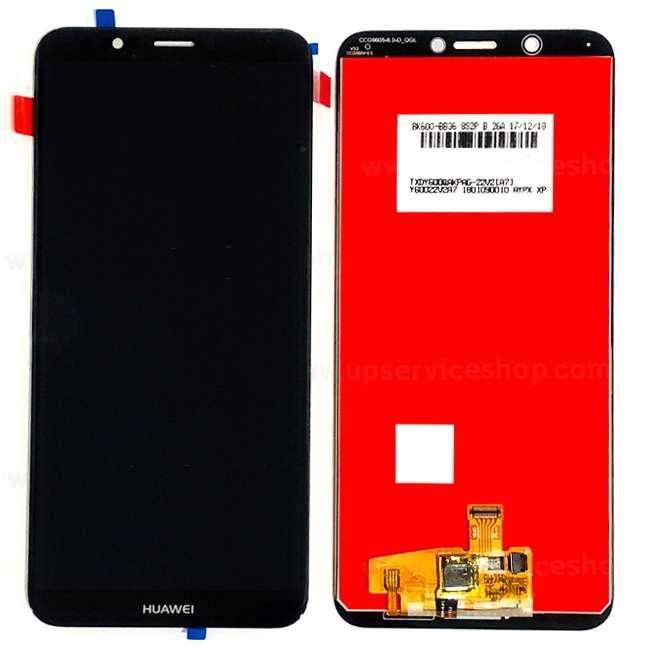 Display Huawei Y7 Prime 2018 LDN L21 Black Negru imagine powerlaptop.ro 2021