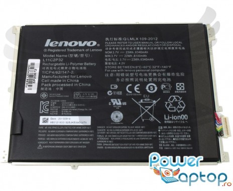 Baterie Lenovo IdeaTab B6000-F. Acumulator Lenovo IdeaTab B6000-F. Baterie tableta IdeaTab B6000-F. Acumulator tableta IdeaTab B6000-F. Baterie tableta Lenovo B6000-F.