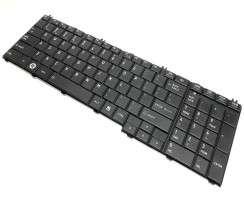 Tastatura Toshiba Satellite C660 neagra. Keyboard Toshiba Satellite C660 neagra. Tastaturi laptop Toshiba Satellite C660 neagra. Tastatura notebook Toshiba Satellite C660 neagra