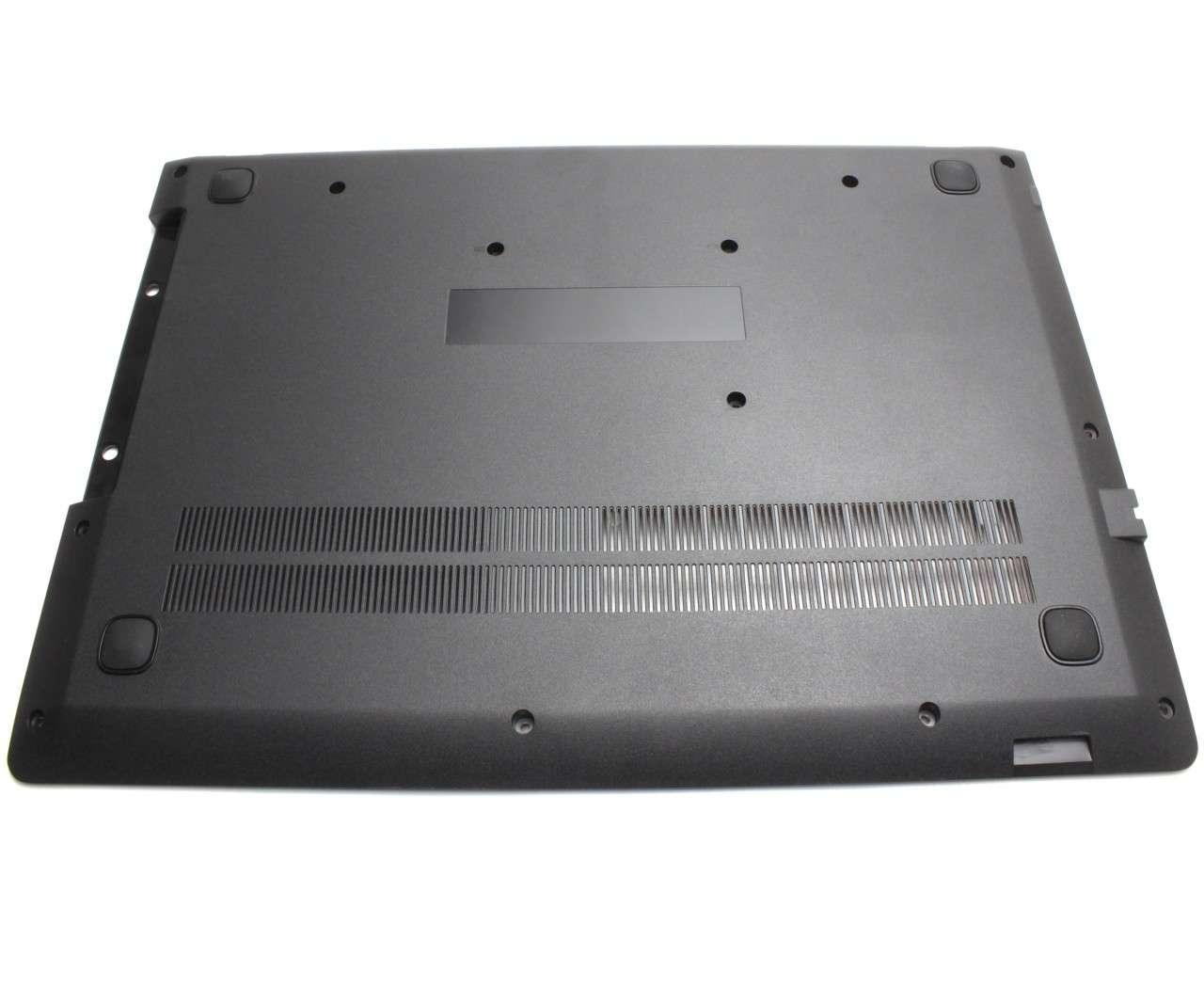 Bottom Case Lenovo FA1HG000400 Carcasa Inferioara Neagra imagine powerlaptop.ro 2021