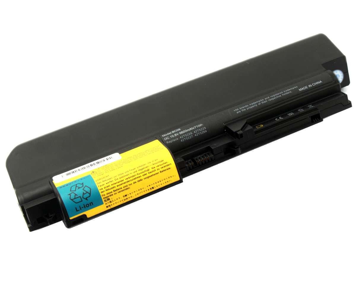 Baterie IBM Lenovo ThinkPad T61 14.1 widescreen 9 celule imagine powerlaptop.ro 2021
