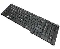Tastatura Toshiba Satellite L750 neagra. Keyboard Toshiba Satellite L750 neagra. Tastaturi laptop Toshiba Satellite L750 neagra. Tastatura notebook Toshiba Satellite L750 neagra
