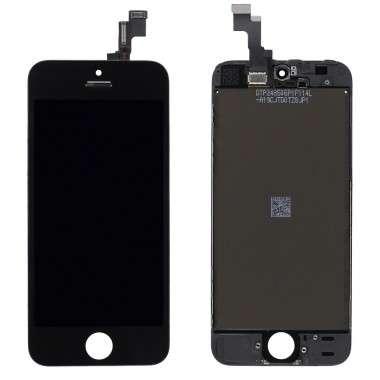Ansamblu Display LCD + Touchscreen Apple iPhone SE Negru Black. Ecran + Digitizer Apple iPhone SE Negru Black