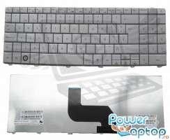 Tastatura Gateway  NV44 argintie. Keyboard Gateway  NV44 argintie. Tastaturi laptop Gateway  NV44 argintie. Tastatura notebook Gateway  NV44 argintie