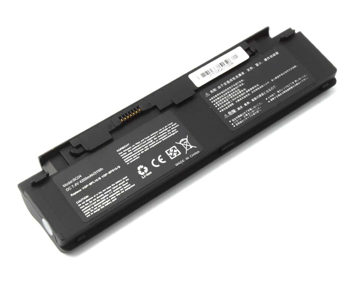 Baterie Sony Vaio VGN P15G Q 4 celule imagine powerlaptop.ro 2021