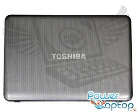 Carcasa Display Toshiba Satellite C850D. Cover Display Toshiba Satellite C850D. Capac Display Toshiba Satellite C850D Gri