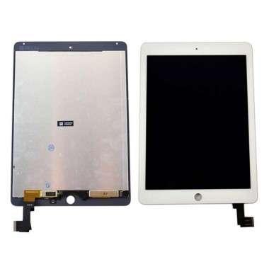 Ansamblu Display LCD  + Touchscreen Apple iPad Air 2 A1566 ORIGINAL Alb. Modul Ecran + Digitizer Apple iPad Air 2 A1566 ORIGINAL Alb