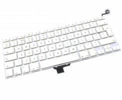 Tastatura Apple MacBook A1342 2009 Alba. Keyboard Apple MacBook A1342 2009. Tastaturi laptop Apple MacBook A1342 2009. Tastatura notebook Apple MacBook A1342 2009